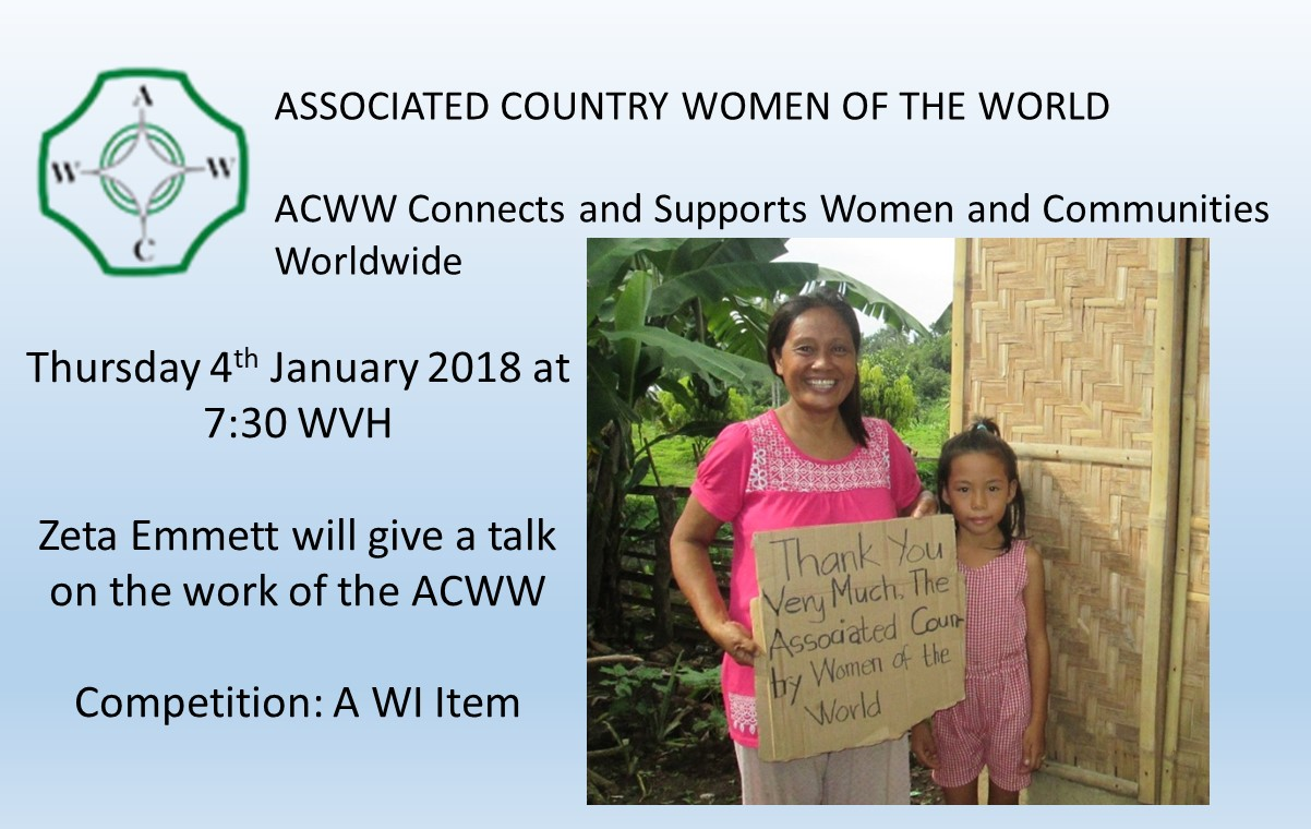 January Meeting - ACWW