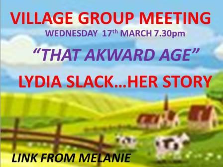 WED 17th MARCH