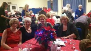 Ann, Lesley, Ann C and Jane