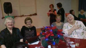 Joyce, Shirley, Anne and Beryl
