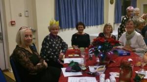 June, Sue, Pat, Eileen and Ann